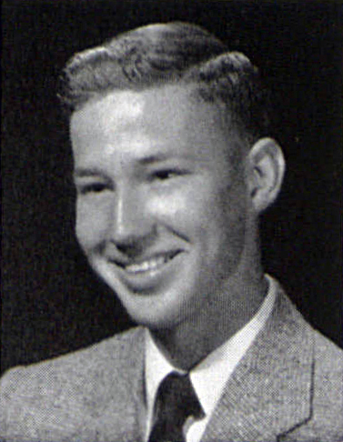 John S. Leister Jr.'s 1953 Graduation Photo