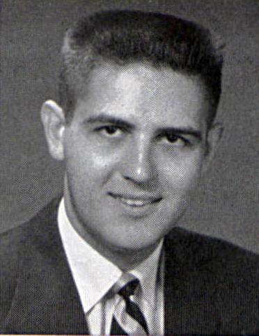 Thomas H. LaFerrara '55LaVie Graduation Photo