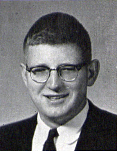 Edwin Latchem's 1957 Graduation Photoas in LaVie Yearbook