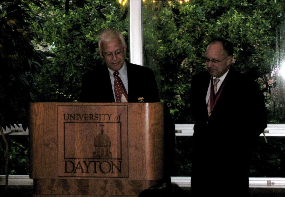 Joost Keesing (L) with Dave Westol