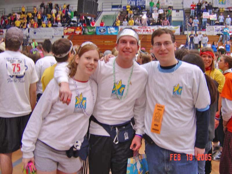 2005 Dance MarathonLisa, Scott Harding, and Josh Block
