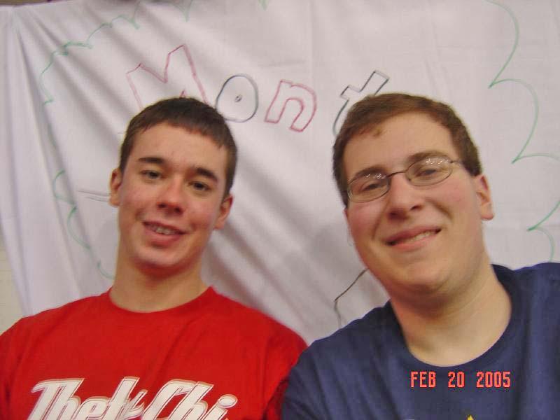 2005 Dance MarathonEric Forner (L) and Joshua Block