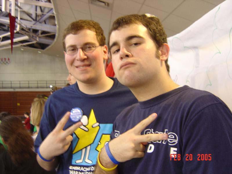 2005 Dance MarathonJoshua Block (L) and Jeffrey Kranzel