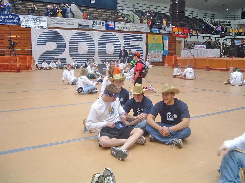 2005 Dance MarathonScott Harding, Anne, Avi Sadiky and Matthew Factor