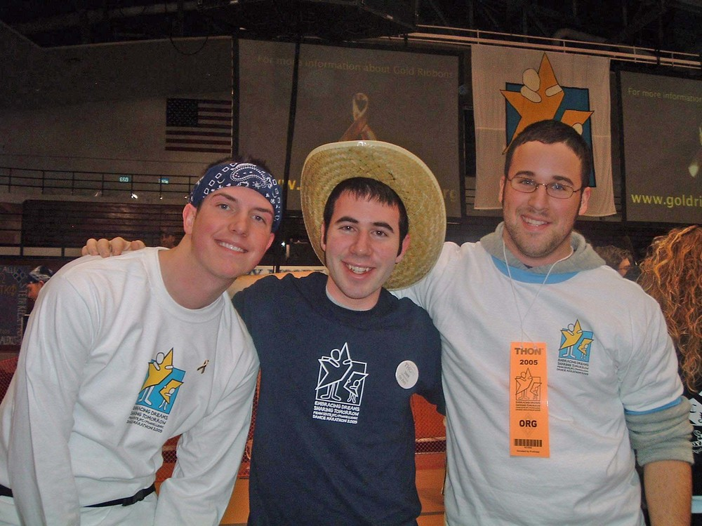 2005 Dance MarathonScott Harding, Avi Sadiky and Jacob Wolf