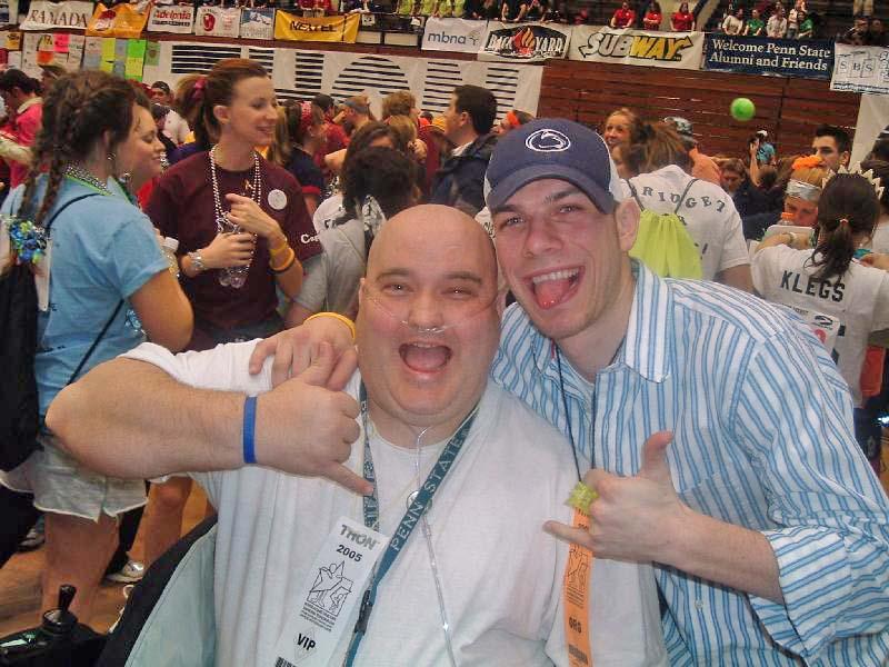 2005 Dance MarathonMark Outland (L) and Yan Tseytlin
