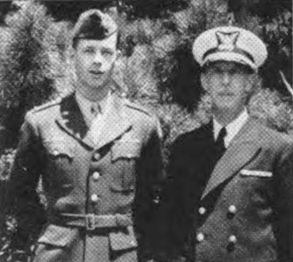 George W. Chapman Jr. '49 and George W. Chapman '20