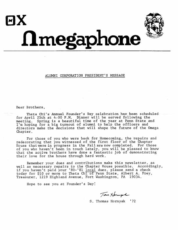 Click to Download March 1981 Omegaphone
