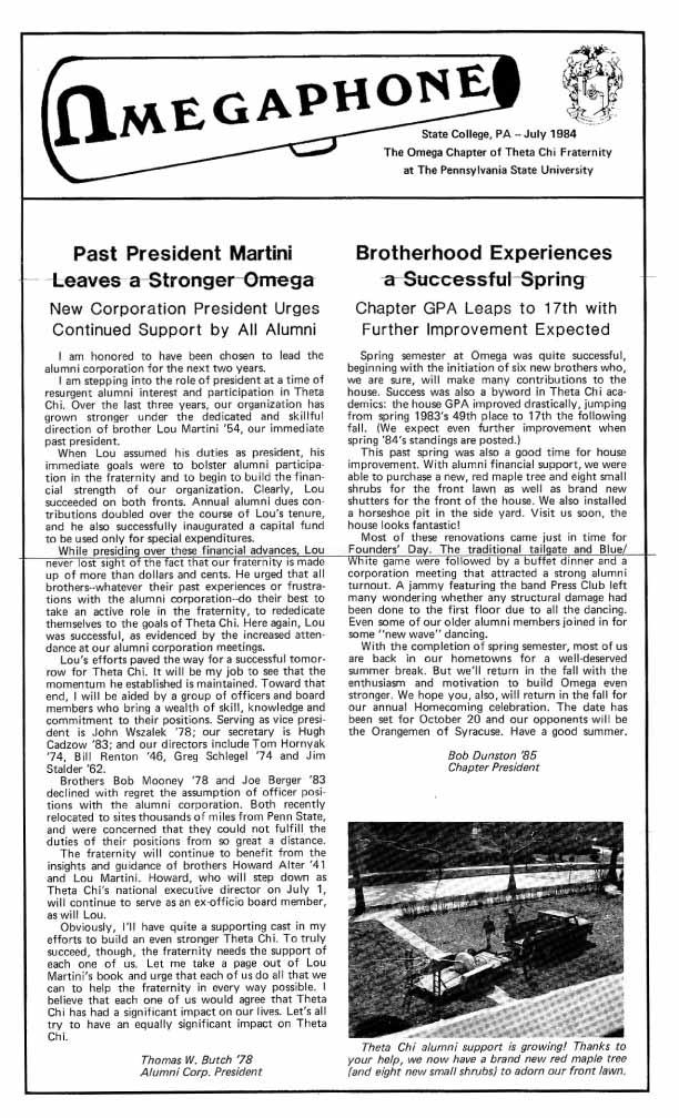 Shutters — News — Theta Chi of Penn State