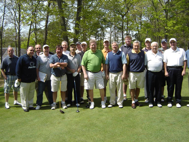 Omega alumni at the 30  th   annual Theta Chi Open in 2011