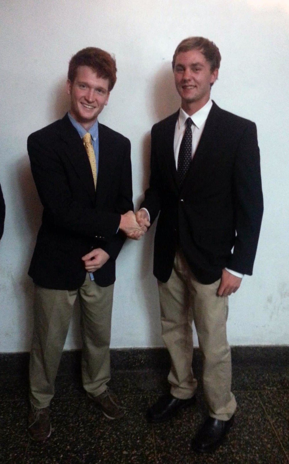 Fall 2014 - Big/Little Ceremony - Rory McGowan and Kevin DiGuiseppe