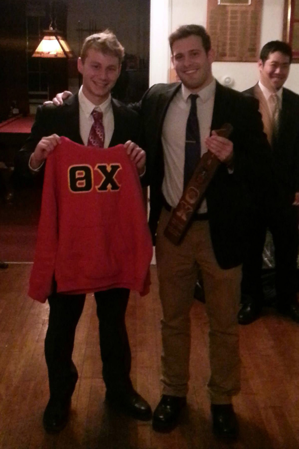 Initiation Night - Fall 2014 - Colin Kaye and Sean Curry