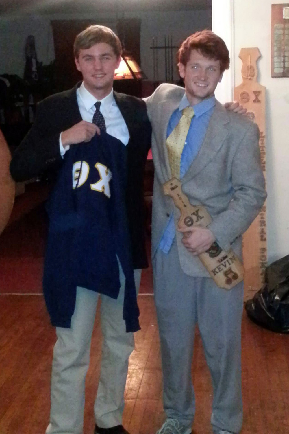 Initiation Night - Fall 2014 - Kevin DiGuiseppe and Rory McGowan