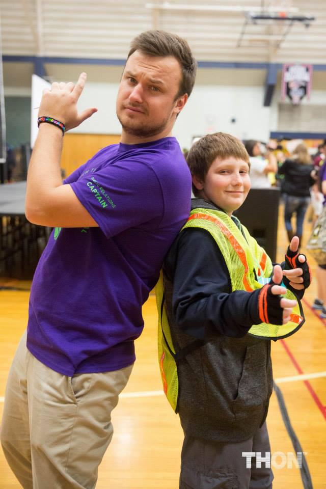 Sam Shively and AJ Bobby - THON Family Carnival - Nov. 2014