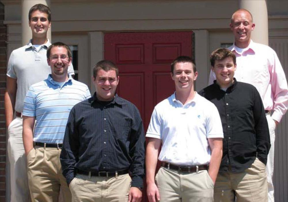 The 2009/10 Field Staff - L to R: Bart Zino, Phillip Burns, Jason Handberg, Corey Fischer, Tim Uhrich and Jimmy Cox