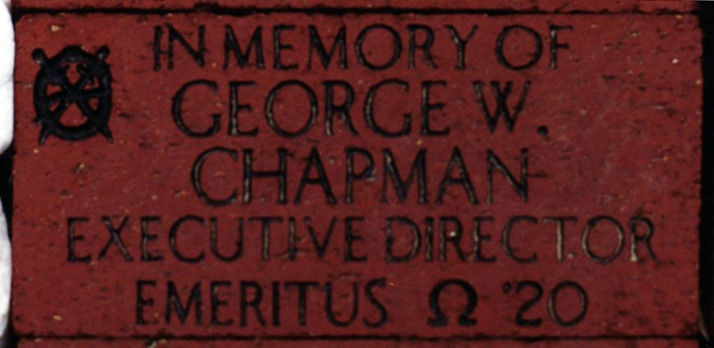 George Chapman's '20 brick