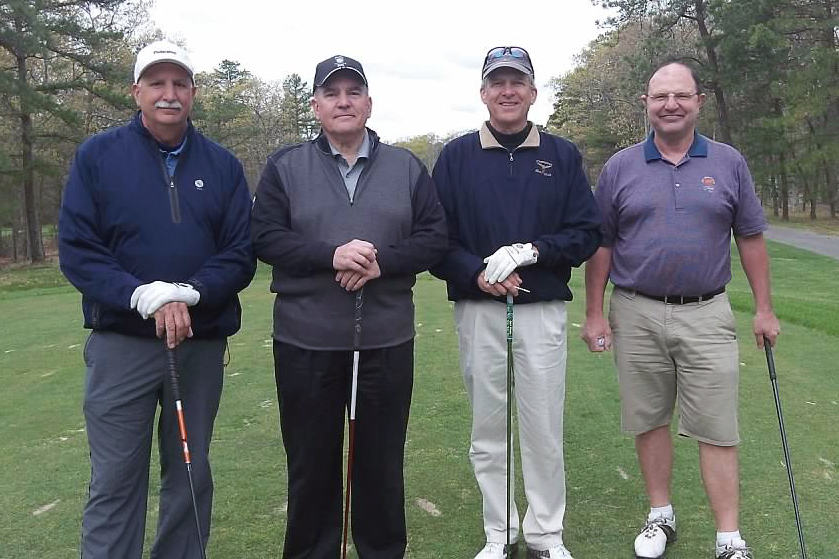 2015 Theta Chi Open - Tony Bernardo, Bob Losinger, Bob Mausser and Bob Mooney