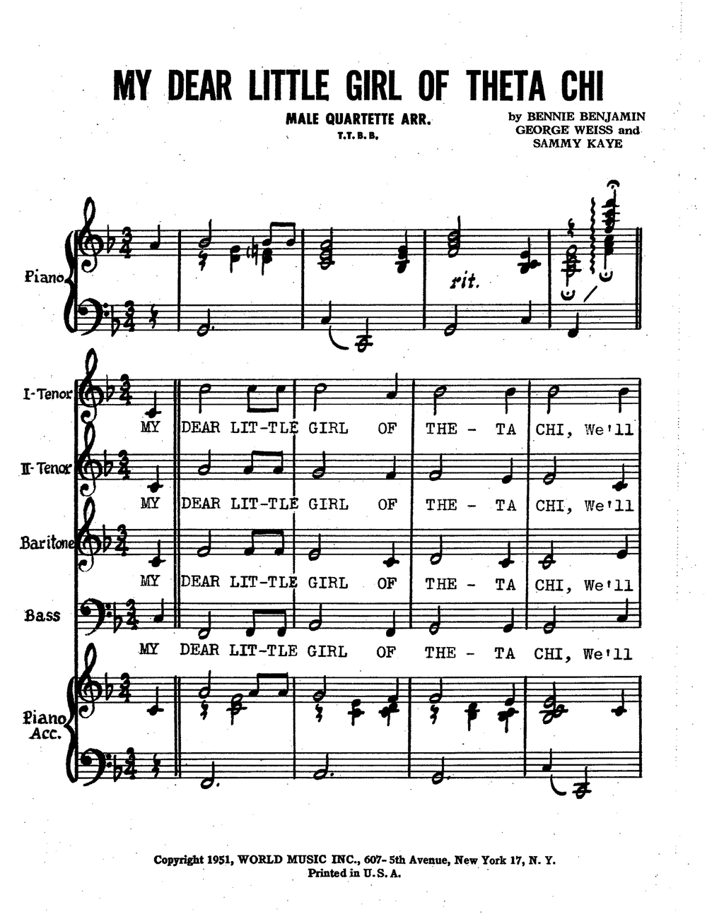 Click to Download Sheet Music