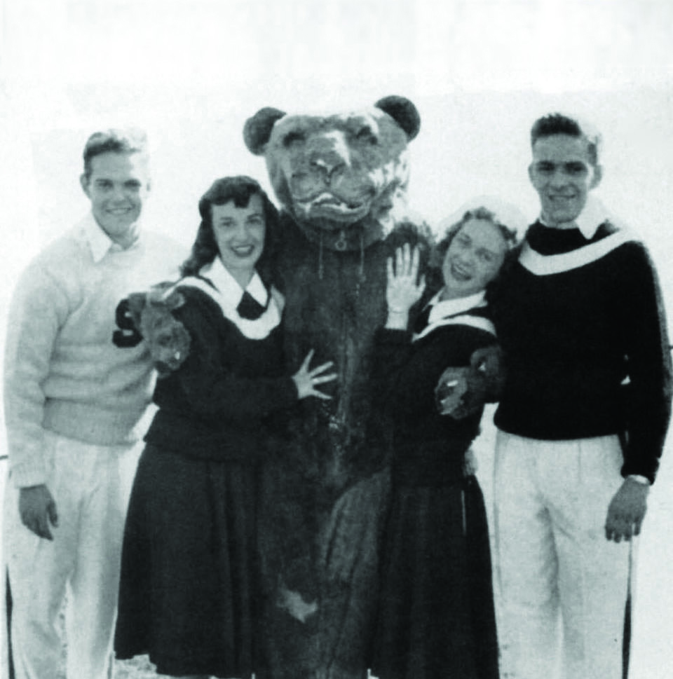 Alex Gregal as the Nittany Lion - Circa 1951