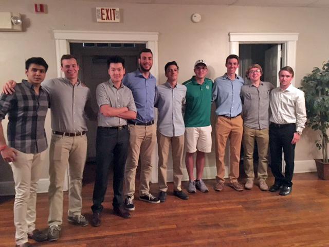 From left to right: Anir Chowdhury, David Cox, Leo Wu, Zaid Hassan, Qasem Abufaza, Tyler Olsen, Josh Koch, TJ Hardwick, Collin Ninke -Not pictured: Shaylen Amin