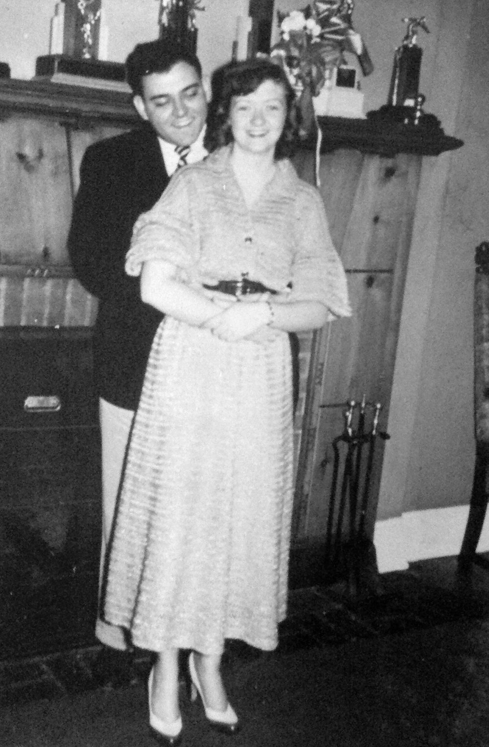 Mr. and Mrs. Elmore - 1952