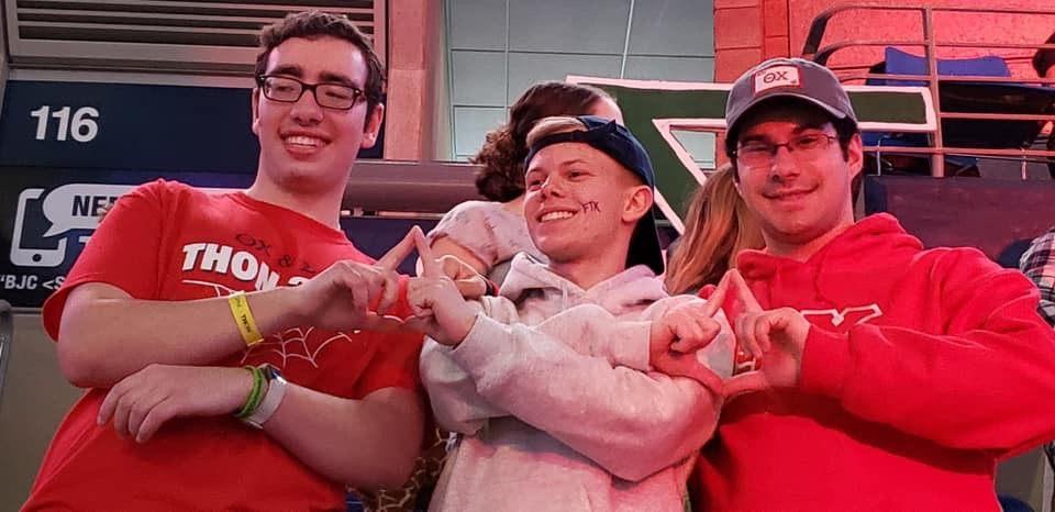 2019 THON - Robbie, Jake, Jeremy
