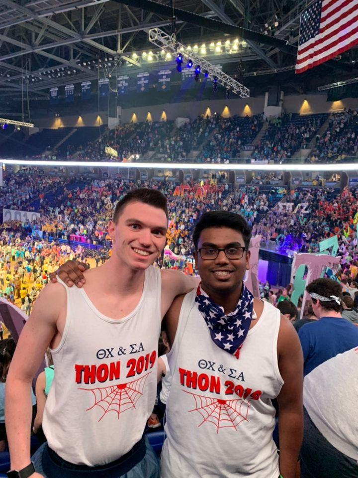 2019 THON - Trey and Kawsar