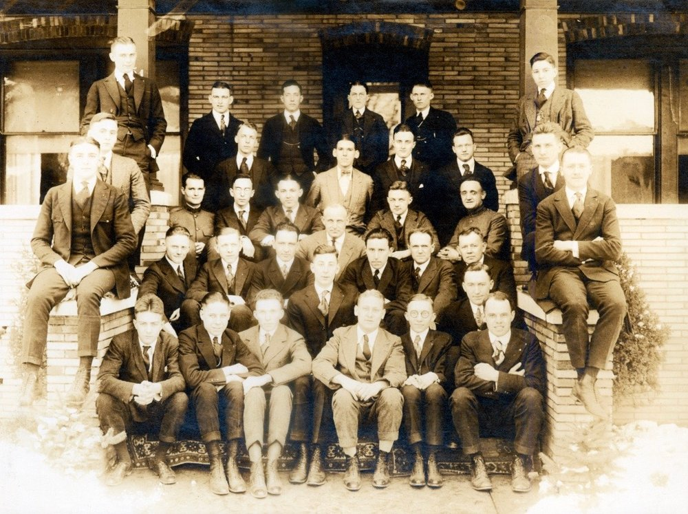 Omega Chapter and Installation Committee, Penn. State College, PA. - March 14, 1919