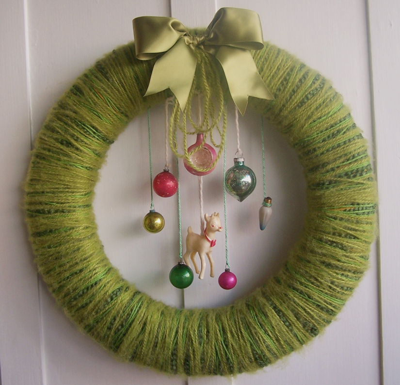 Doe & Yarn Wreath