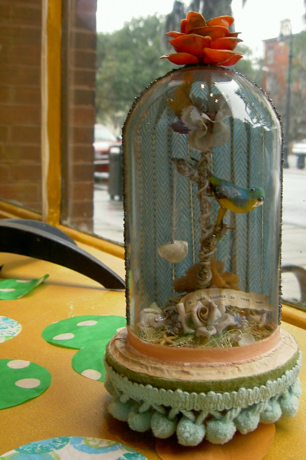 Bird in a Bell Jar