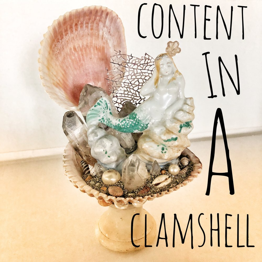 Content in a Clamshell