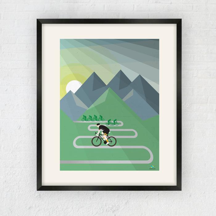 Six Summits Print. 1/1