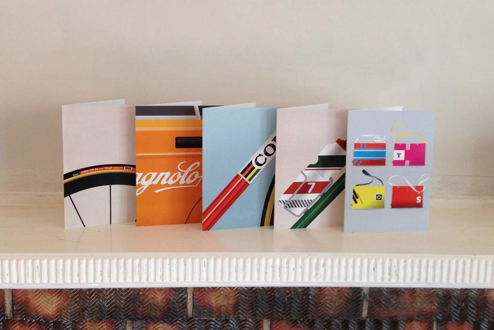 Veloposters Greeting Cards