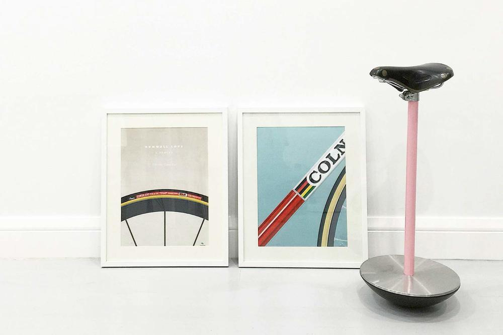 veloposters cycling prints framed photo @shirleytatt