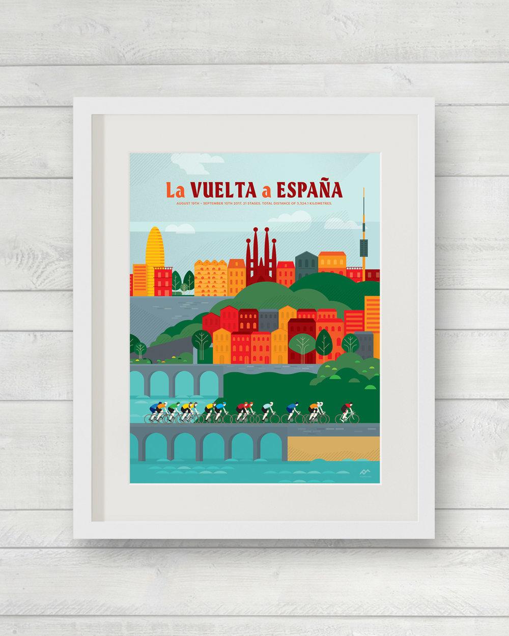 Vuelta 2017 | ©veloposters