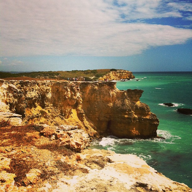 Cliffs of Cabo Rojo #puertorico