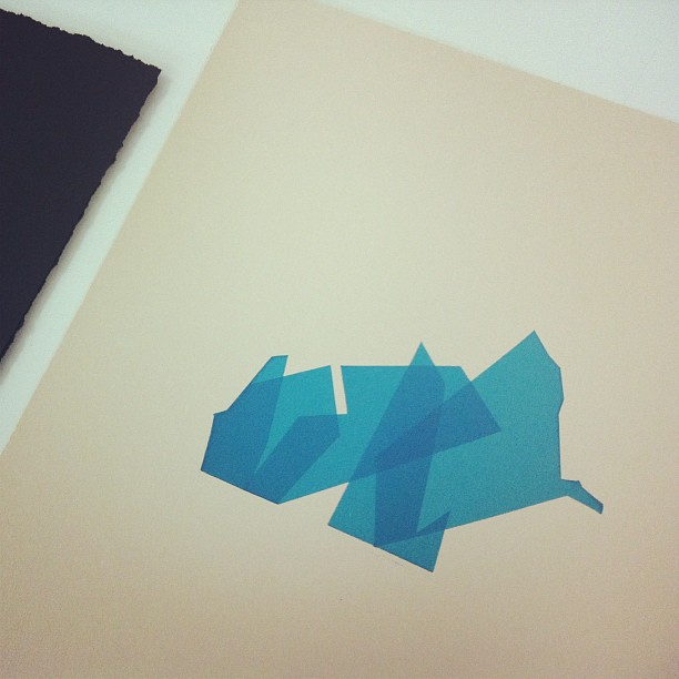 Working on something for Hole In The Sky - see it finished next Saturday! #holeintheskydc #screenprinting