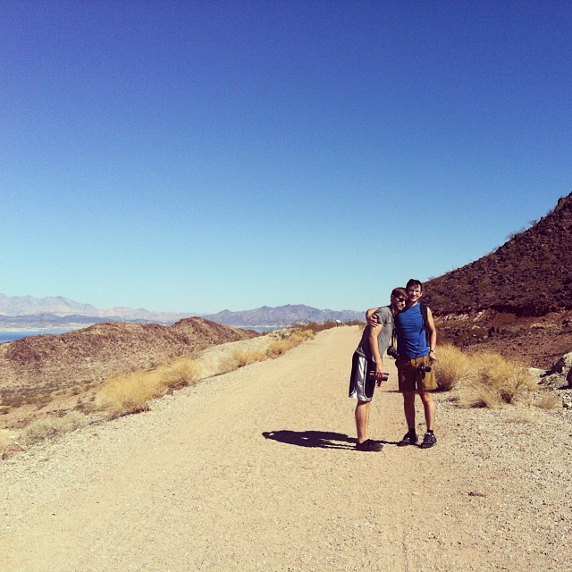 Deserts are amazing. #deserts #hiking #friendsforever