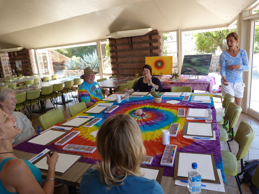 Group Workshop on Color and Spirituality