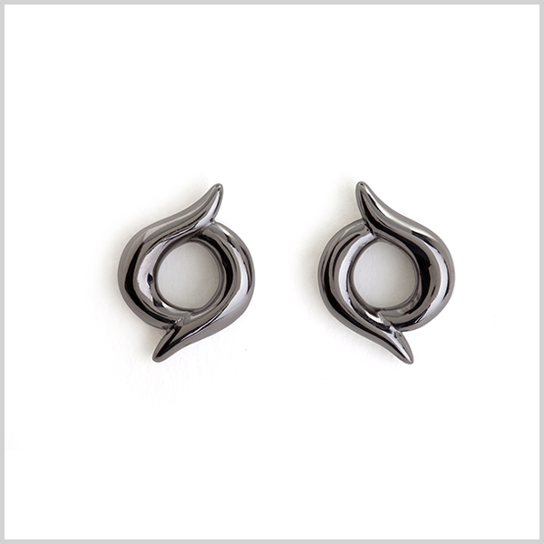 Firefly studs - £160 Silver black rhodium plated
