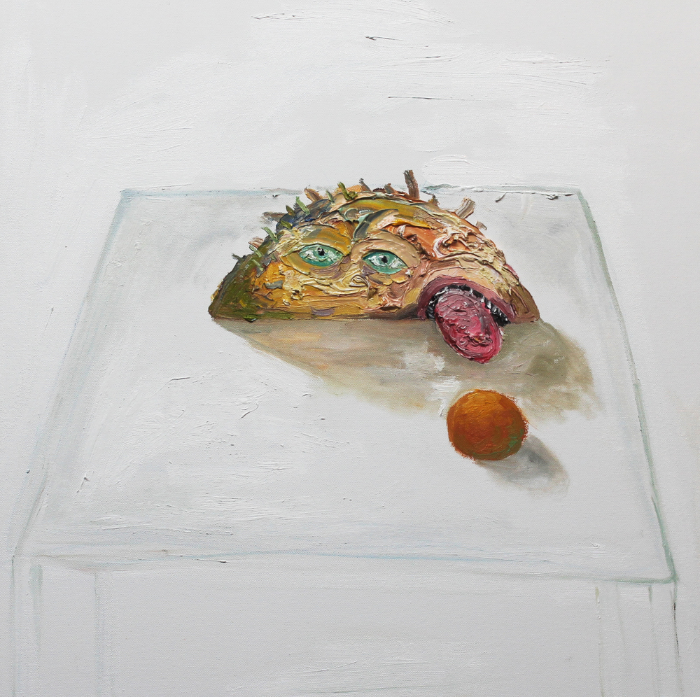 Still Life , 2012, oil on canvas, 24 x 24 inches