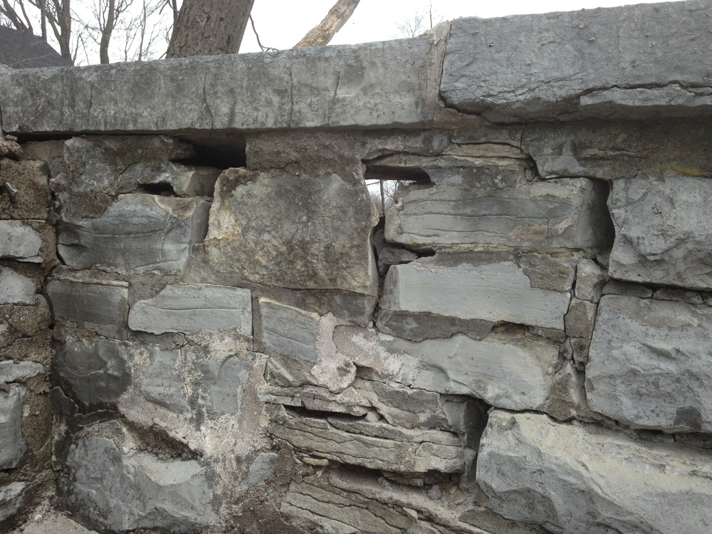 Existing Parapet Wall