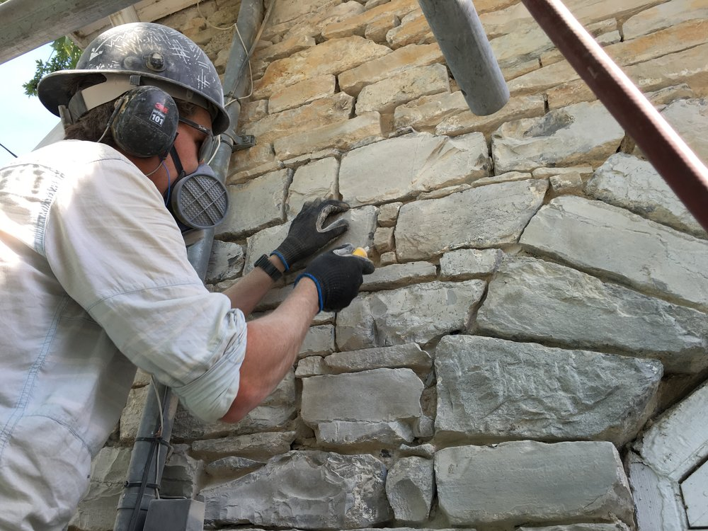 Mortar Removal