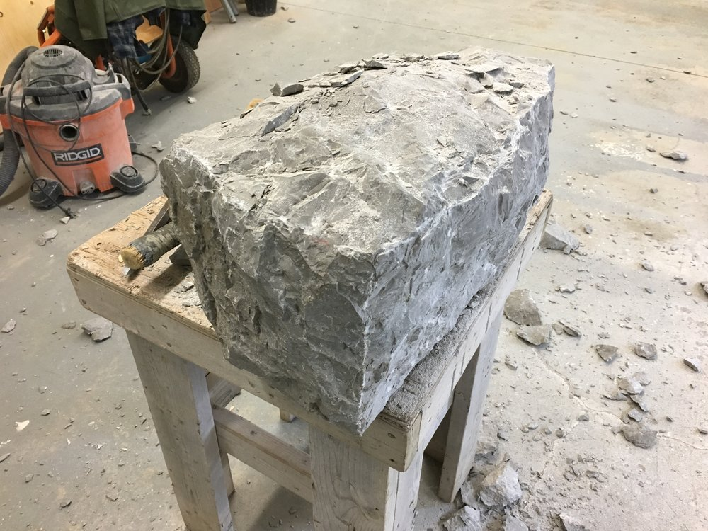 Replacement stone Quoin