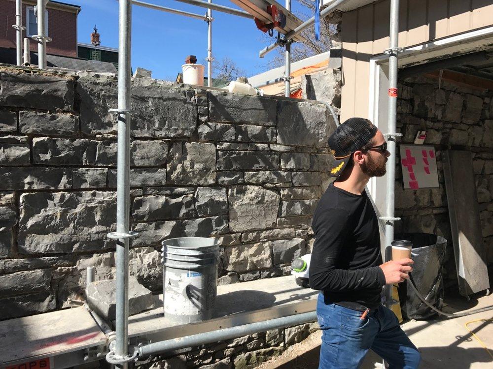 random-rubble-limestone-wall