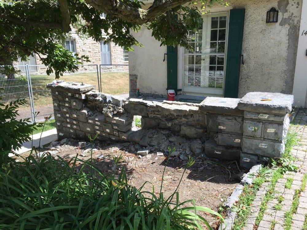 limestone-terrace-wall