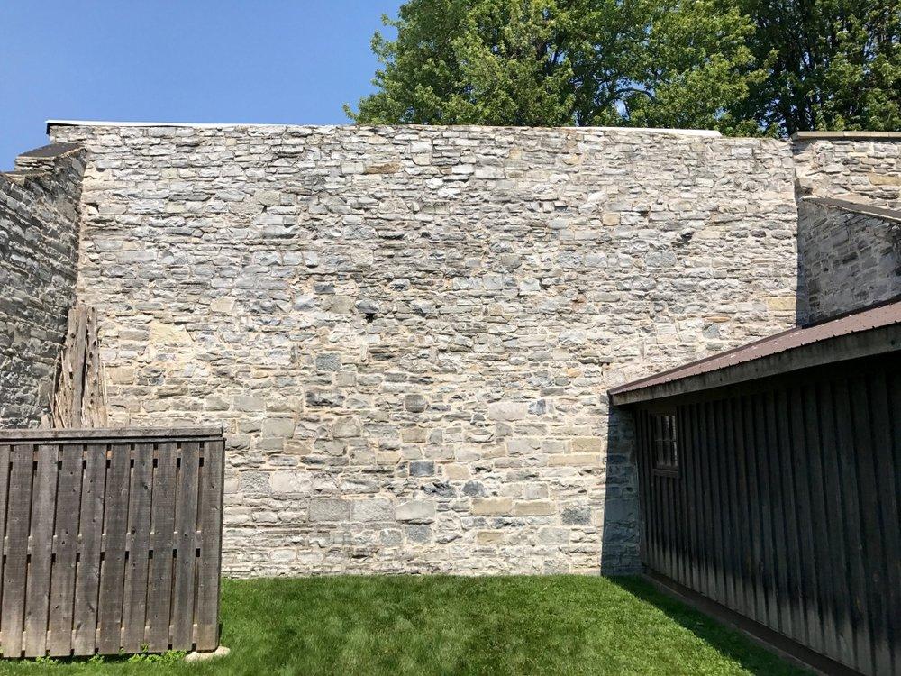 Kingston-limestone-wall