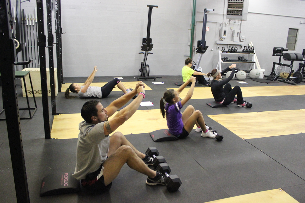 We were lucky & had the entire Sabino family join us for the evening workout! Thanks for coming, we look forward to having you in our soon to come…Vert Teen Program