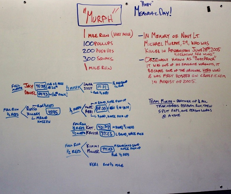 WOD Whiteboard: 5/26/2014