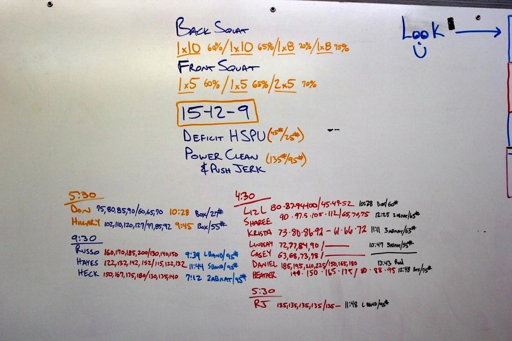 WOD Whiteboard: 5/23/2014